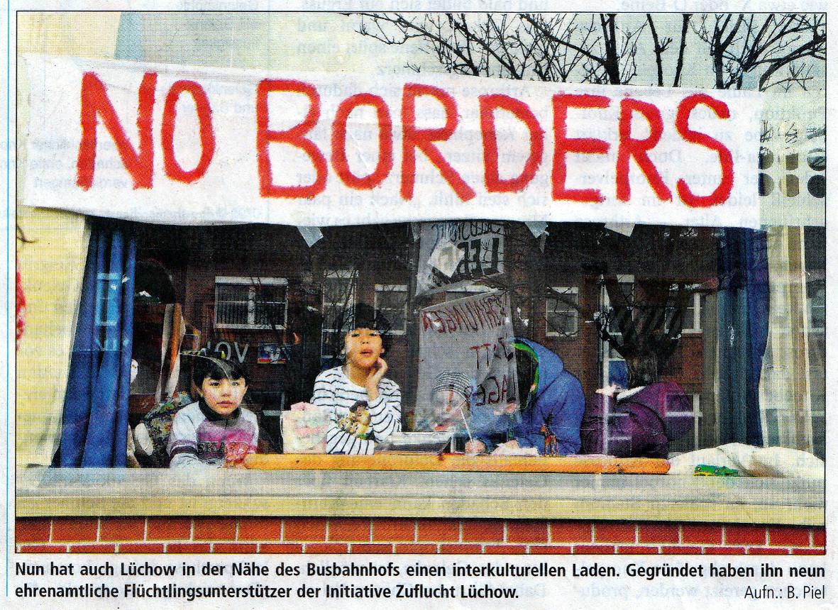 Ein Treffpunkt für Flüchtlinge