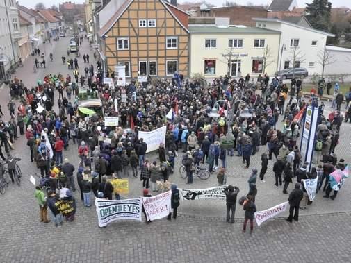 Demo gegen Rassismus und für eine solidarische Gesellschaft