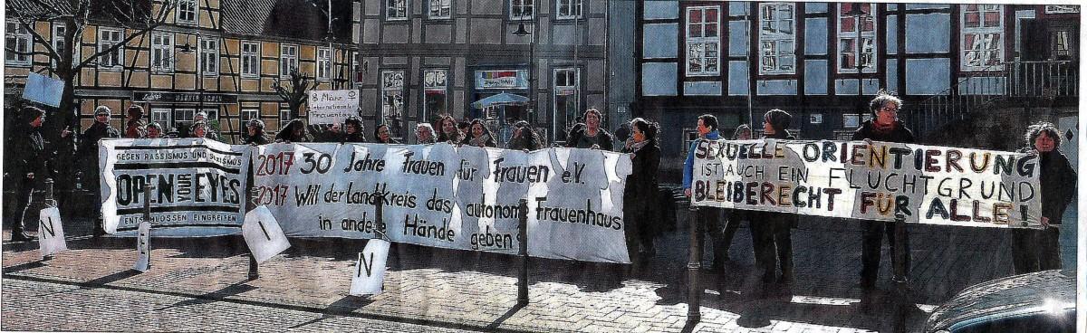 8. März: Demo zum Welt-Frauentag