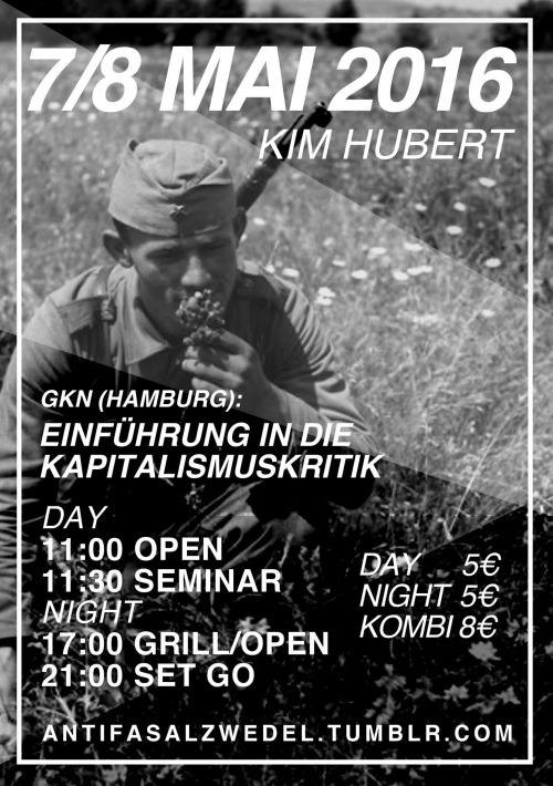 Veranstaltung und Party im AZ-Kim Hubert