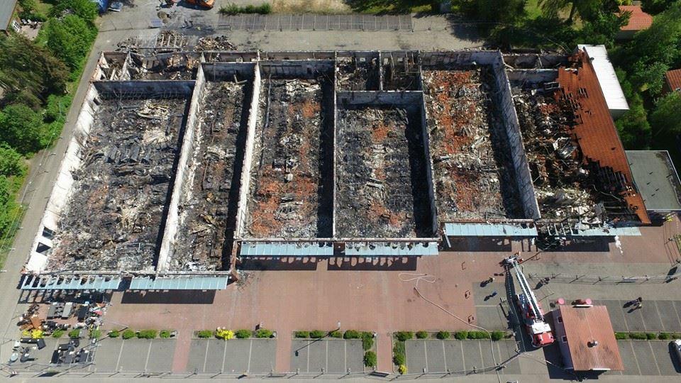 Linksammlung zum Brand im Dannenberger Jetzel Zentrum