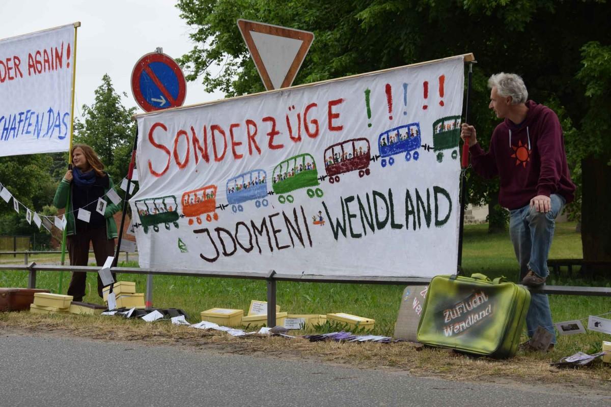 Sonderzug Idomeni-Wendland
