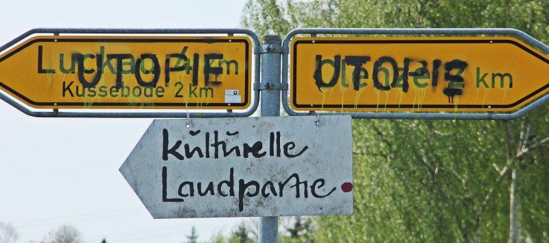 Dutzende Schilder in ganz Lüchow-Dannenberg beschmiert