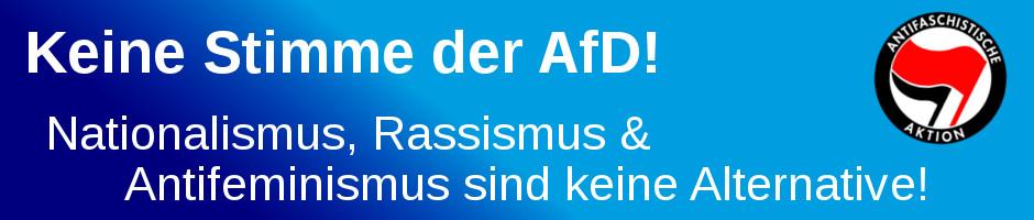Der AfD den Boden entziehen – im Wahlkampf, im Alltag!