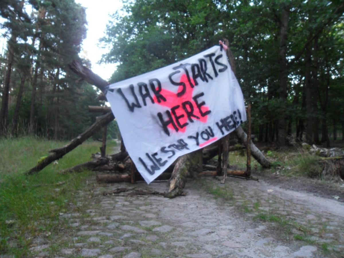 Pressespiegel zum GÜZ Aktionstag und war-starts-here Camp