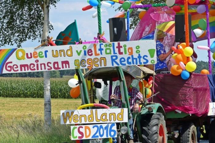 Christopher Street Day im Wendland: Rund 150 Menschen protestierten für vielfältige Gesellschaft