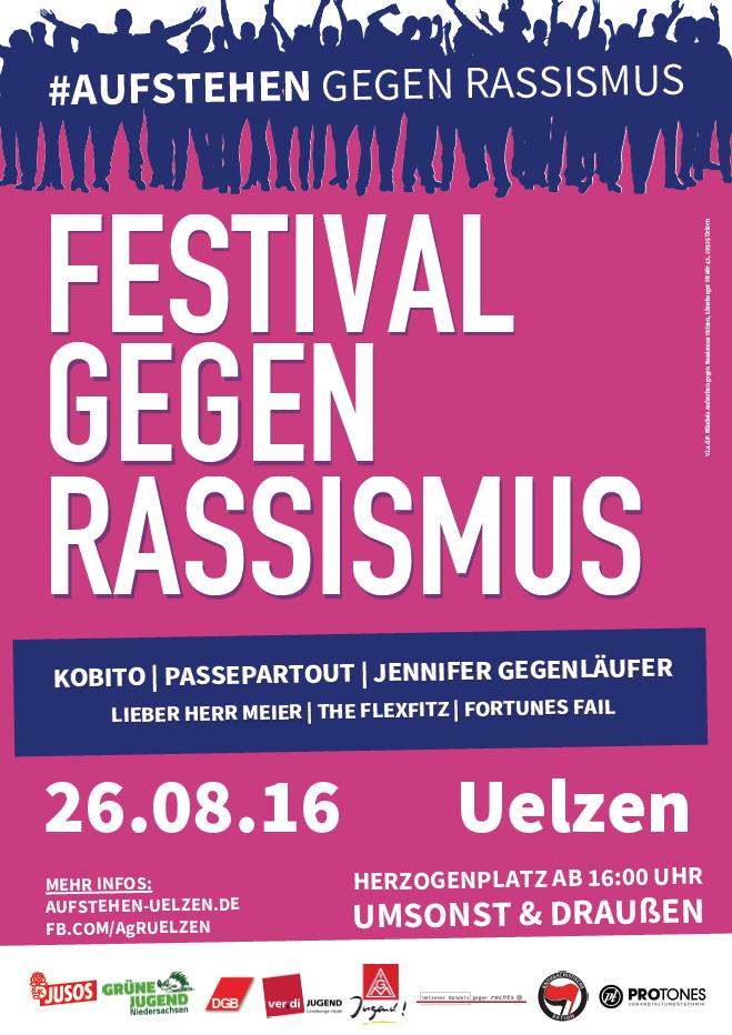 Festival gegen Rassismus in Uelzen