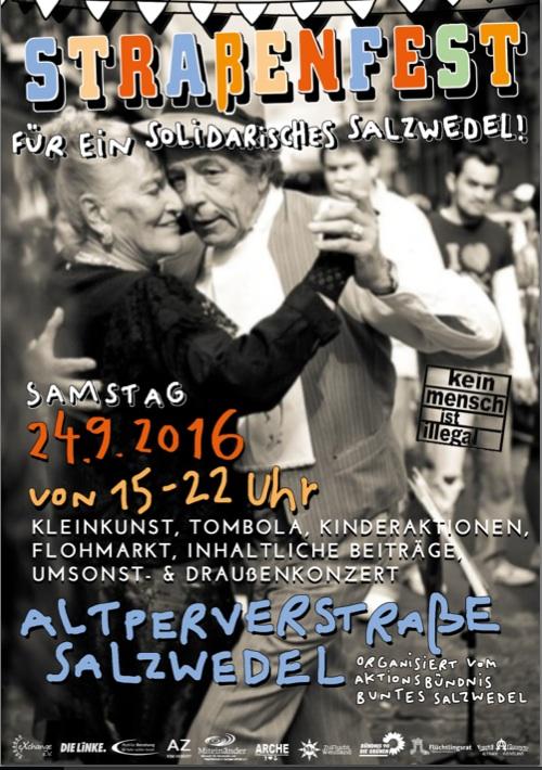 Straßenfest für ein solidarisches Salzwedel