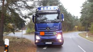 Gorleben: Atommülltransport kurz gestoppt