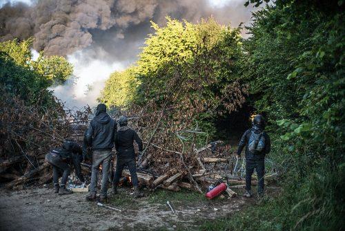 Bure (F): Wieder-Wiederbesetzung des Waldes