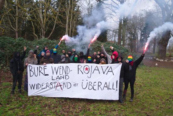 Feierliche Gründung des Solidaritätskommitées für Bure!