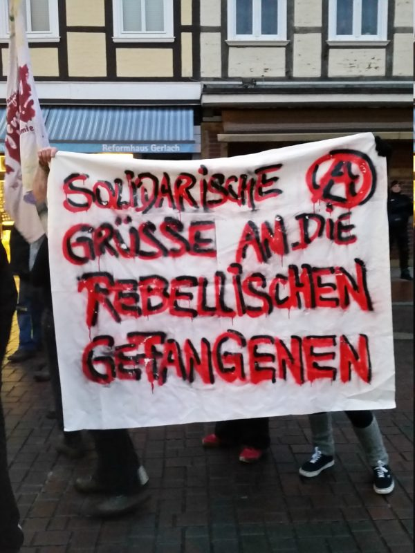 Solidemo für die G20 Gefangenen in Lüchow