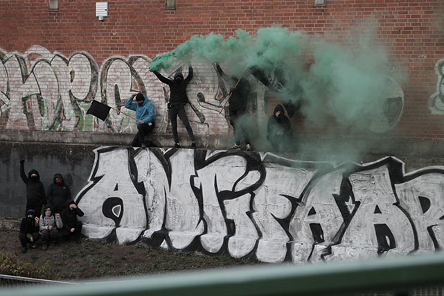 Antifa-Stadtspaziergang durch Lüchow