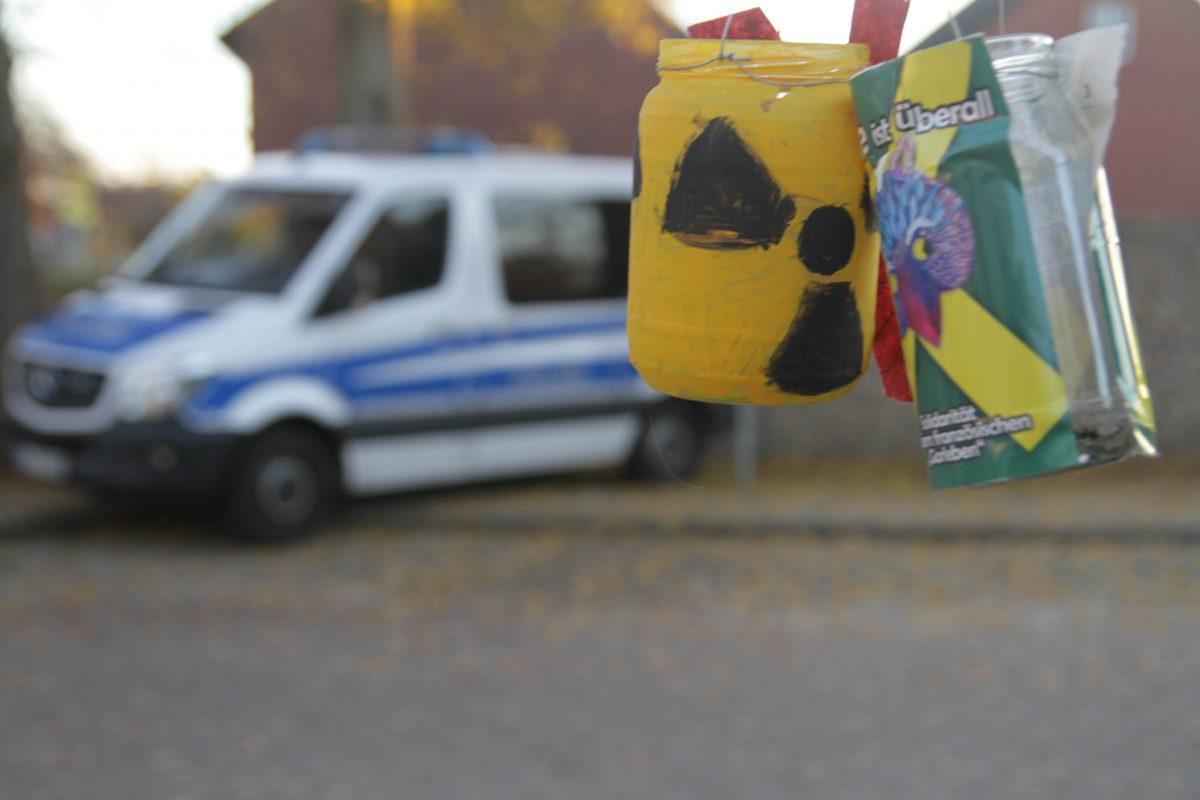 Polizei verhindert würdiges Gedenken an Sebastien Briat – ein Erlebnisbericht