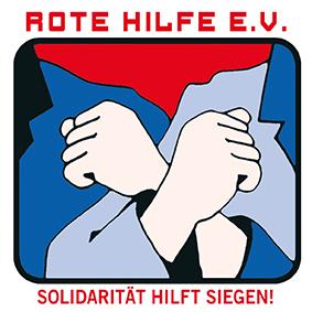 Solidartät verteidigen! Hände weg von der Roten Hilfe!