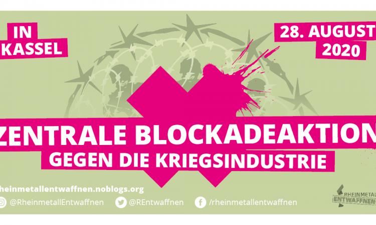 zentrale blockadeaktion